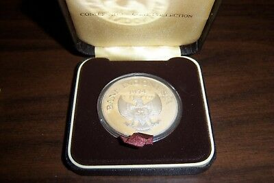 1974 Indonesia Orangutan  5000 Rupiah Silver Coin Proof Original Condition