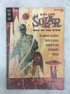 Doctor Solar Man Of The Atom #1 Origin & 1St Appearance Issue Gold Key 1962