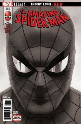 AMAZING SPIDERMAN 796 3rd PRINT B&W VARIANT RED GOBLIN 1st SOLD OU PRE-SALE 4/18