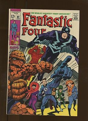 Fantastic Four 82 VF 8.0 * 1 Book Lot * Inhumans! Stan Lee & Jack Kirby!