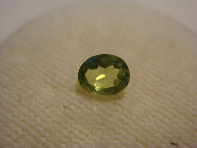Peridot Oval Cut Gemstone 5 mm x 4 mm 0.25 Carat Natural Green Gem