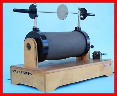 HUGE RUHMKORFF INDUCTION SPARK COIL - Tesla, Marconi Wireless - over 12 lbs