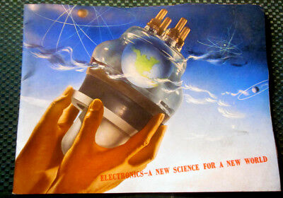 1942 General Electric ELECTRONS For A New World 32 page DALI Brochure
