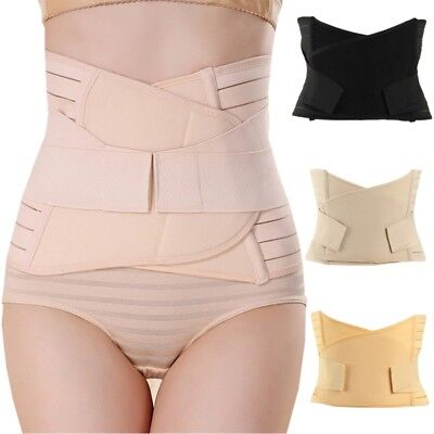 AU Body Shaper Tummy Trimmer Waist Cincher Shapewear Girdle Corset Slimming Belt