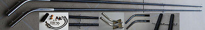 Mini Outrigger Kit. 4m 2pc inc. Poles, Bases, Rigging. Everything you need!