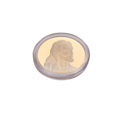 Gold Jesus Anonymous Mint Bitcoin Commemorative Coins Collection Art Gifts HOT