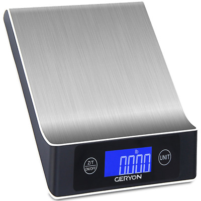 Food Scale Geryon Kitchen Cooking Scale, Multifunction & Electric, Food Weighing