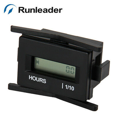 RL-HM010A  hour meter with digital LCD display for Boat Tractor Mower(AC86~230V)