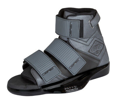 2019 O'BRIEN CONNECT Wakeboard Bindings, UK 4-7 or 7-10 or 9-13 Grey. 51330