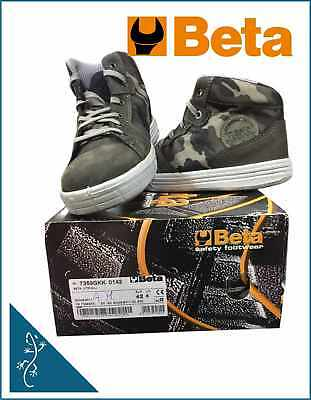 Scarpe alte urban beta 7369gkk mimetic grey