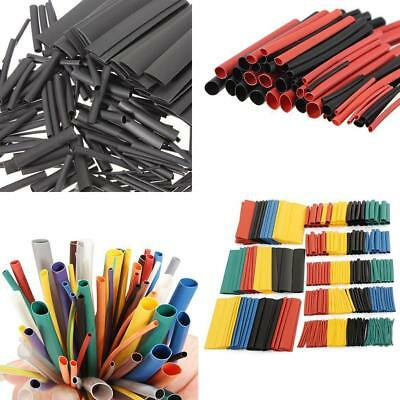 328Pcs Polyolefin 2:1 Heat Shrink Tubing Electrical Wrap Wire Cable Sleeving Kit