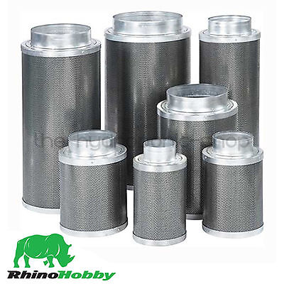 Rhino Hobby Carbon Filter 4 5 6 8 10 12 Inch Hydroponics