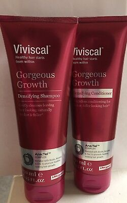 Viviscal Gorgeous Growth Densifying Shampoo and Conditioner 8.45fl oz