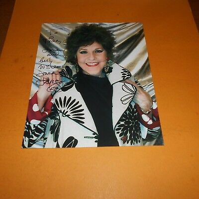 Donna Fargo is an American country singer-songwriter, Hand Signed Photo