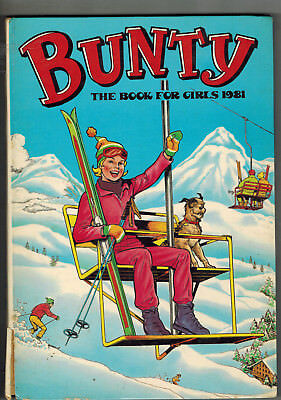 BUNTY FOR GIRLS 1981 Annual