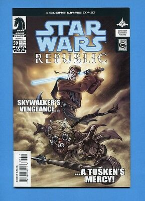 STAR WARS REPUBLIC # 59 COMIC BOOK with case VF to NM from series set