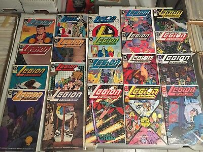 Lot of 88 Legion of Super-Heroes Comics Copper Age HUGE COLLECTION! See Photos!