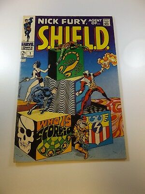 Nick Fury Agent of SHIELD #1 VG condition Huge auction going on now!