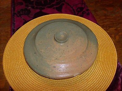Antique Crock Lid for Butter Churn