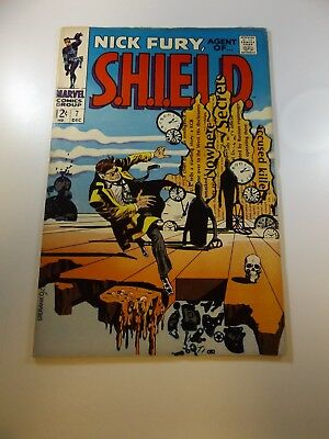 Nick Fury Agent of SHIELD #7 VG+ condition Huge auction going on now!