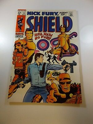 Nick Fury Agent of SHIELD #12 VF- condition Huge auction going on now!