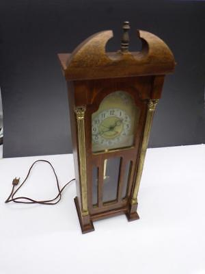 "Vintage ""Sessions-United""  Novelty Grandfather Clock with Faux Pendulum WS1-8"