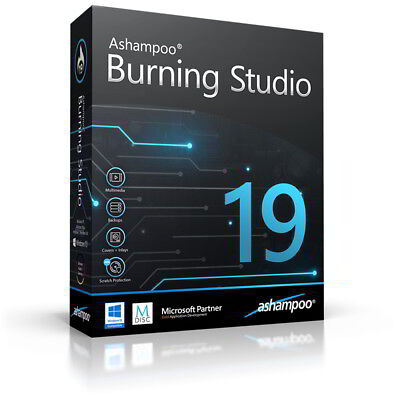 Ashampoo Burning Studio 19 dt.Vollversion lifetime Download 14,99 statt 49,99 !