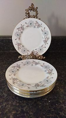 """Set of EIGHT Coalport My Fair Lady 6 1/8"""" Bread and Butter Plates"""