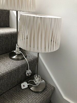 John lewis pair of table lamps with cream lampshades 3999 john lewis pair of table lamps with cream lampshades aloadofball Gallery
