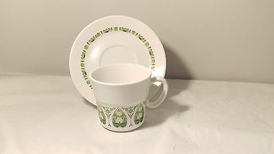 Noritake Palos Verde Progression 9020 Cup & Saucer Set (s) in Excellent Cond.