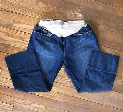 Joe's Jeans A Pea In The Pod Altered Crop Capri Maternity Jeans Size L