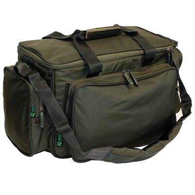 QDOS Carp Fishing Padded Carryall Tackle / Bait Bag Fully Insulated With Strap