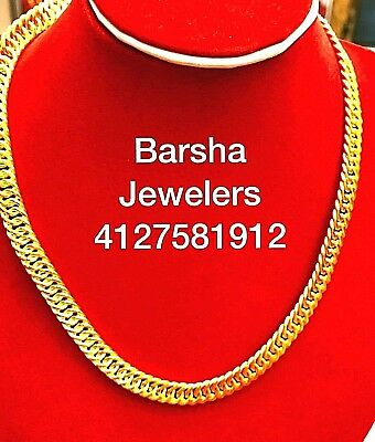 50 grams 24K pure gold chain 9999 fine gold solid gold.