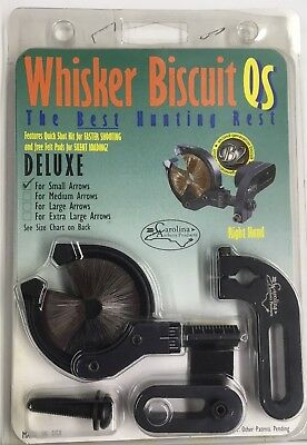 WHISKER BISCUIT QS DELUXE ARROW REST for quick shot with small arrows