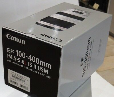 Canon 100-400mm f4.5-5.6L IS II EMPTY BOXES (2)