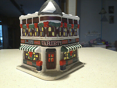 Coca Cola Town Square Collection Variety 5 & Dime Store 1997