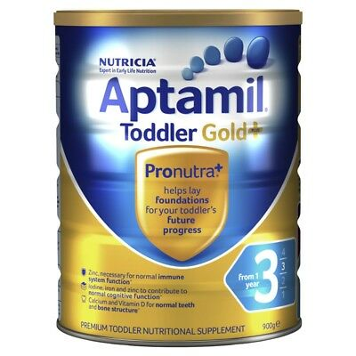Nutricia Aptamil Gold 3 Toddler 900g NEW Cincotta Chemist