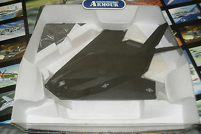 Franklin Mint Die Cast Jet 1:48 F-117 Stealth Patriotic Fighter Limited Edition