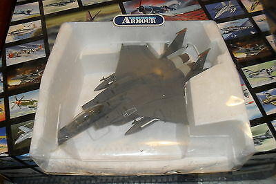 Franklin Mint Die Cast Air Craft 1:48 F-15 Never Forgt Usaf