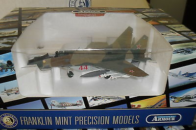 Franklin Mint Die Cast Air Craft 1:48 Mig 29 C Fulcrum Soviet Af V-Vs-98243