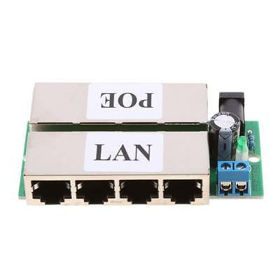 4 Ports POE Injector Switch Power Supply Network For Family surveillance
