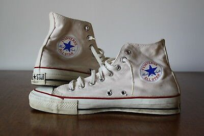 c64ad73fed5be0 Vintage Converse Chuck Taylor All Star Canvas Basketball Shoes size9 Made  in USA