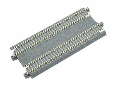 KATO N gauge double-track straight line 124mm 20-023 model railroad F/S w/Track#