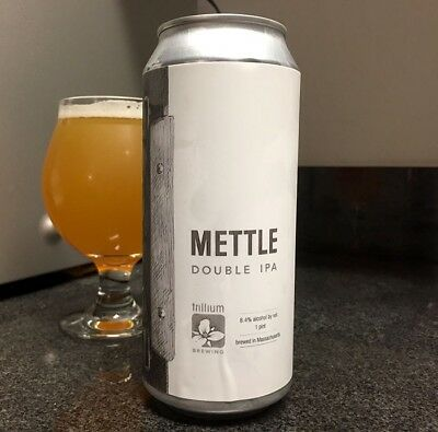 Trillium Brewing Mettle DIPA  4 Collectible Cans
