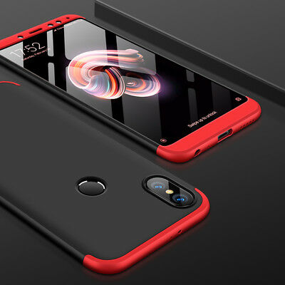 For Xiaomi Redmi Note 6 5 Pro Shockproof 360° Full Protection Hybrid Case Cover