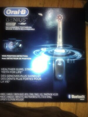 Oral-B Genius Pro Electronic Power Rechargeable Battery Electric Toothbrush, New