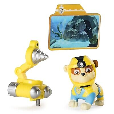 Paw Patrol Sea Patrol Deluxe Figure - Light up Rubble