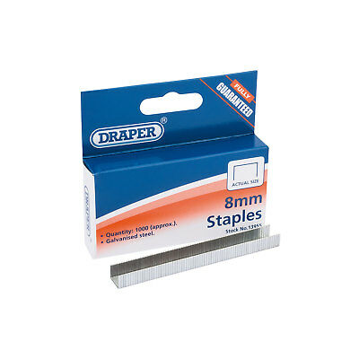 Draper 13955 1008Hd Box 1000 8mm Staples For to Fits Arrow T50 Draper 13951