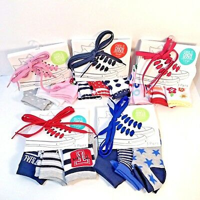 Wholesale Socks Children Boys Girls Lot of 5 Packages 15 Socks Blue Red Pink New