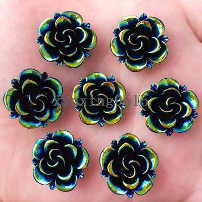 20 Duck Resin Flatback 3D Cabochon Craft Button//bow//Girl//Embellishment B23-Daisy